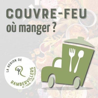 # Couvre-feu : où manger ?