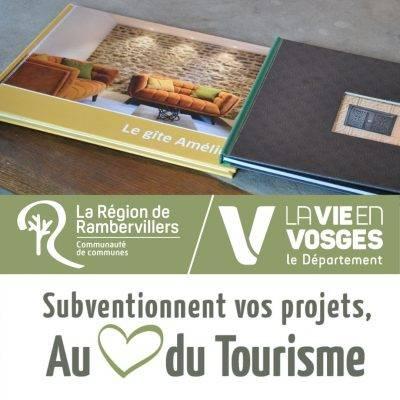 # Tourisme & subventions