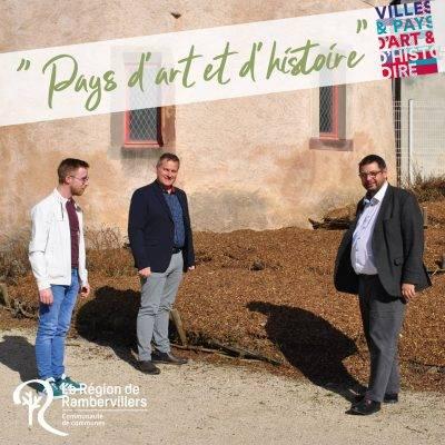 # Tourisme : label «Pays d'art et d'histoire»