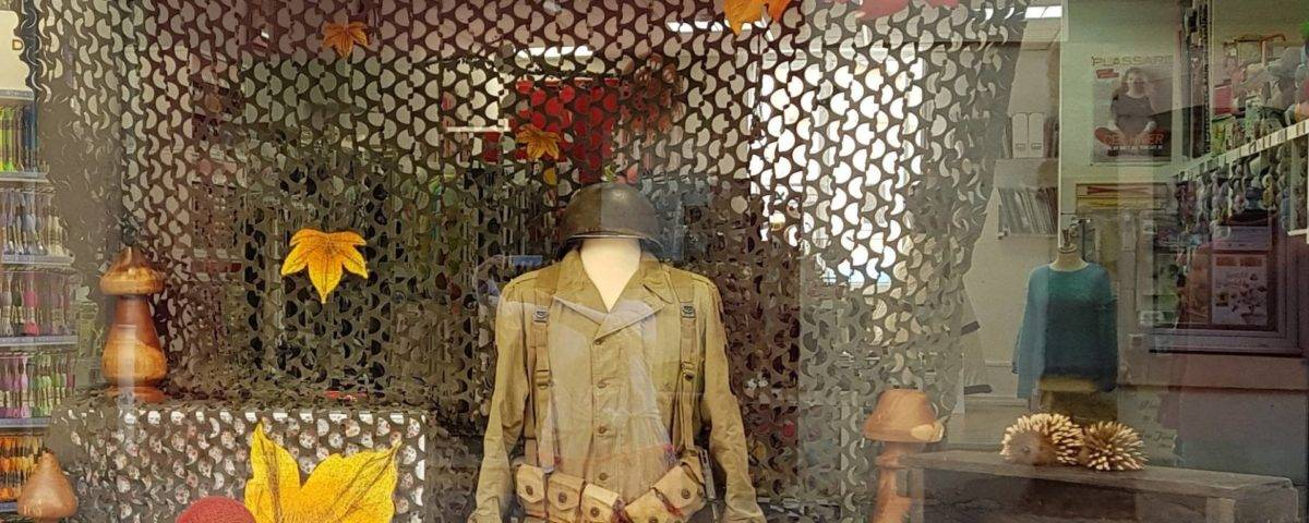 vitrine 75 ans liberation luneville COCCIfil