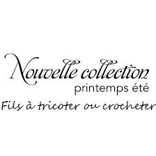 nouvelle collection a tricoter ou crocheter COCCIfil